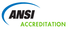 ANSI logo accreditaion